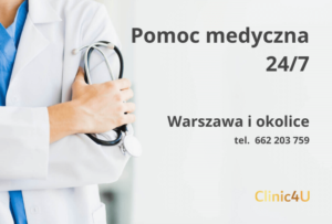 pomoc medyczna Warszawa Clinic4U